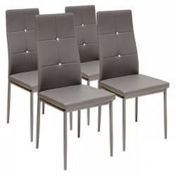 Zestaw krzesła Lori - 4 sztuki