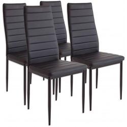 Krzesło Bergamo -Zestaw 4 sztuki