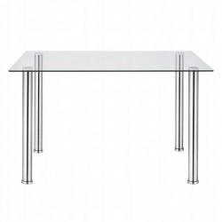 Stół Szklany YC 80x55cm Clear