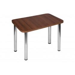 Stół Max 100x65cm - nogi chrom błyszczący
