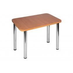 Stół Max 110x60cm - nogi chrom błyszczący