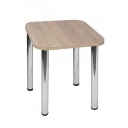 Stół Max 60x60cm - nogi chrom błyszczący