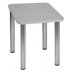 Stół Max 50x50cm - nogi satyna
