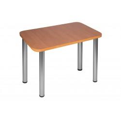 Stół Max 100x55cm - nogi satyna