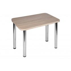 Stół Max 80x55cm - nogi chrom błyszczący