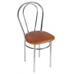 Krzesło Tulipan Chrom Trapez