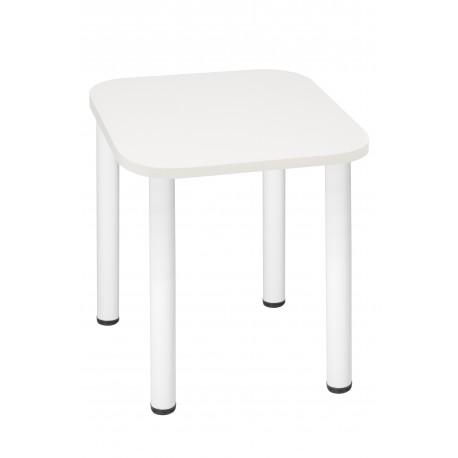 Stół Max 60x60cm - nogi białe