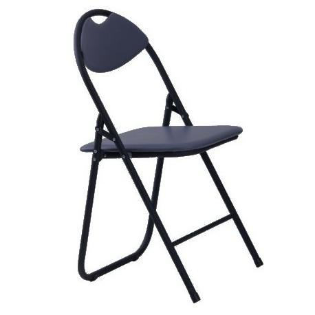 Krzesło Składane S1 - Czarne